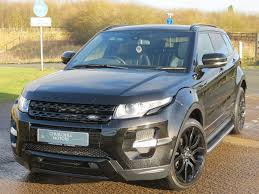 land rover evoque black used santorini black land rover range rover evoque for sale