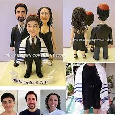 bar mitzvah gifts handmade bar mitzvah cake toppers custom mitzvah ideas figurines