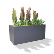 furniture simple and neat black floor standing flower pot modern