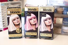 silver blonde color hair toner qoo10 blonde toner hair care