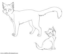 warrior cats coloring pages chuckbutt com