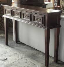 skinny console table items similar to skinny console table small