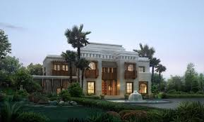 palm tree home decor architectures luxury home models luxury villa palm tree d model