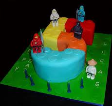 Lego Ninjago Number 5 Birthday Cake Cakecentral Com