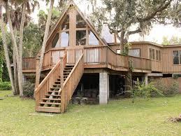 A Frame Home Riverfront Luxury Home U0026 Coastal Cottage Homeaway Old Grove