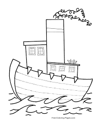 boat coloring pages free printable coloring sheets pictures