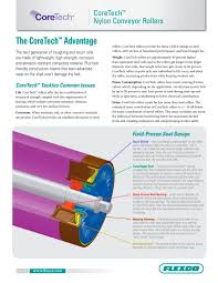 coretech nylon conveyor rollers flexco pdf catalogue