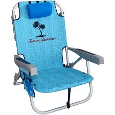 Lightweight Travel Beach Chairs Amazon Com 2 Tommy Bahama Backpack Beach Chairs Light Blue 1