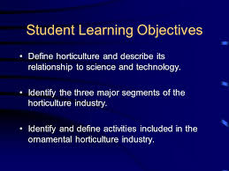 exploring the horticultural industry ppt