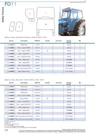 ford tractor cabin u0026 cab glass page 296 sparex parts lists