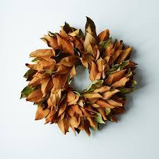 magnolia wreath on food52