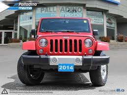 certified pre owned 2014 jeep wrangler unlimited sahara built for
