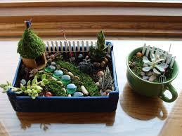 Outdoor Fairy Garden Ideas by Indoor Fairy Garden Ideas Gardening Ideas