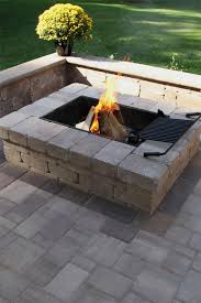 Images Of Backyard Fire Pits by Best 25 Square Fire Pit Ideas On Pinterest Modern Fire Pit