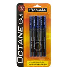 classmate pens buy online itc classmate octane gel pen blue 5 pc buy online