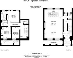 1 bedroom flat for sale in high street hampton wick kt1 kt1