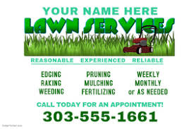 Mowing Flyer Template lawn service flyer templates postermywall