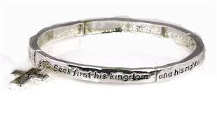 religious bracelet 4030039 christian scripture religious bracelet matthew 6 33 the