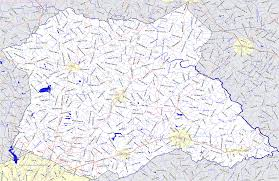 Georgia Counties Map Bridgehunter Com Madison County Georgia