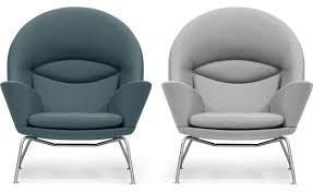 Round Armchairs Ch468 Oculus Lounge Chair Hivemodern Com
