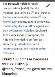 Meme Pronunciation French - the dassault rafale french pronunciation kafall literally meaning