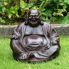 laughing buddha statue sculpture garden ornament s s shop