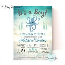 the sea baby shower invitations best 25 sea baby showers ideas on underwater theme