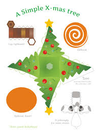 christmas paper craft templates u2013 festival collections