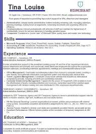 Example Secretary Resume Example Of It Resume Example It Security Careerperfectcom
