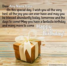 for you birthday wishes for friend with name