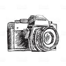 vintage doodle camera handdrawn stock vector art 638403142 istock