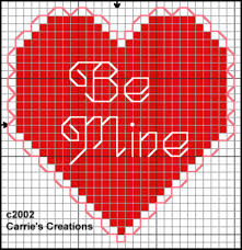 free s day counted cross stitch patterns