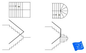 Floor Plan Stairs | staircase design