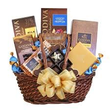 gift basket godiva chocolate celebrations gift basket gourmet gift baskets