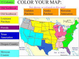 louisiana florida map usi 8 expansion usi 8a describe territorial expansion and how it