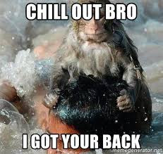 Chill Out Bro Meme - chill out bro i got your back hitman monkey meme generator