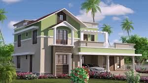 kerala house design flat roof youtube