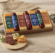 summer sausage gift basket top 20 best cheese gift baskets heavy