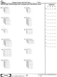 Volume Of Rectangular Prisms Worksheets 13 Best Images Of Volume Worksheets 5th Grade Cube Volume