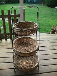 tiered fruit basket 3 tier basket stand for the home kitchens cabin