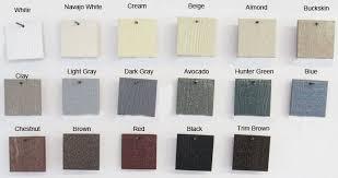 wood shed color chart wood storage building paint colors va