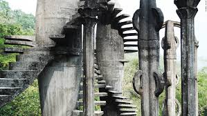 Mexico Architecture Escher Like Playground Hidden In The Mexican Jungle Cnn Style