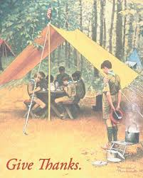 thanksgiving reminds scouts to feel gratitude for our country s