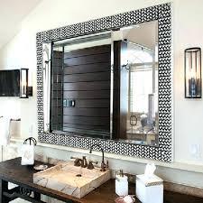 bathroom mirror frame ideas ideas framing large bathroom mirror murphysbutchers com