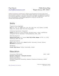 sample resume for oracle pl sql developer unix developer resume free resume example and writing download resume unix job software developer resume template