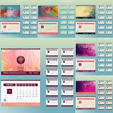desk pad calendar 2017 desk pad calendars 2017 vector free download vectorpicfree
