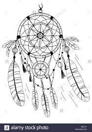 dreamcatcher feathers and beads native american indian dream