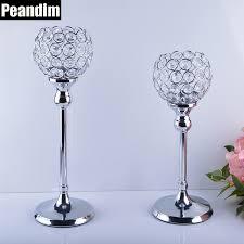 candelieri cristallo peandim candelabri centrotavola matrimonio feste decorazioni k9