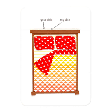 sides of the bed s papeterie greeting cards stationery