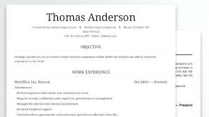 resume builder template u2013 inssite